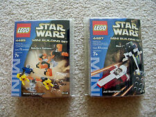 LEGO Star Wars - Rare 4485 Podracer & 4487 Starfighter & Slave I - New & Sealed