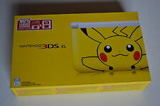 Pokemon Pikachu Nintendo 3DS XL Limited Edition Bundle Brand New Factory Sealed