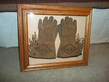 TOM MIX KIDS GLOVES - 1940'S & TOM MIX BOOK - FOREWORD BY GENE AUTRY