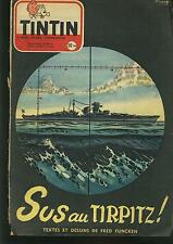 tintin - 265 - 19 novembre 1953 / bon etat correct