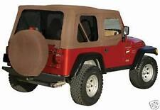new97-06 soft top Jeep TJ Wrangler FOR HALF DOORS SPICE 3 YEAR LIMITED WARRANTY