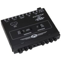Autotek 7007 Equalizer/Crossover 1/2 Din 4 Band;2-Way
