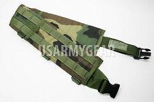 Woodland Molle FLC LBV Woodland Tactical Utility Waist Belt Vest Harness GI SDS