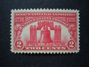 """1926 #627 2c Liberty Bell Issue """"GEM"""" MNH OG XF #1 """"Includes New Mount"""""""