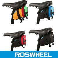 ROSWHEEL Borsetta Borsa sotto Sella Sellino Bicicletta Bici Ciclismo MTB Colori