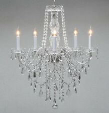 Made With Swarovski Crystal Chandelier Authentic All Crystal Chandelier Lighting