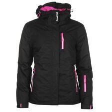 Équipements de neige vêtements, accessoires noirs pour les sports d'hiver femme