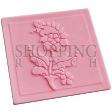 Flower Cake Lace Embosser Silicone Mould Mat Decoration Mold D