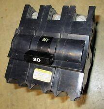 Federal Pacific FPE 20 amp circuit breaker NB232020 Stab-Lok