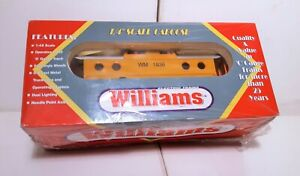 Williams 1/:48 scale Caboose CHESSIE WM #1836 New Sealed Box N5C Stock #CAB106