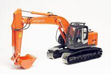 1/50 Hitachi ZAXIS 225 USRK Hydraulic Excavator Metal Tracks Diecast Model