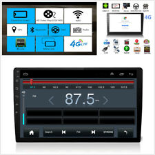 "Ultra thin 10""2Din Quad-Core Car Stereo Radio GPS DVD LTE BT DAB Mirror Link OBD"