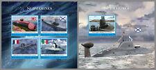 MALEDIVEN 2020 ** U-Boote Submarines #17-1104ba B