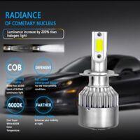 2x H7 300W 36000LM LED Scheinwerfer Birnen Headlight Leuchte Lampen Weiß 6000K
