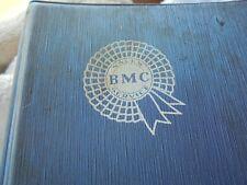 ORIGINAL 1960 BMC BODY REPAIR GIDE MANUAL /MINI /MG/HEALEY SPRITE ETC