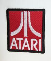 Atari 2600 5200 7800 Embroidered Patch Applique ~ Retro Video Gaming Console