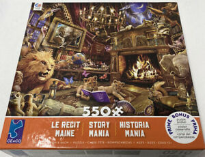 Story Mania 550 Piece Puzzle  Great Little Puzzle NIB