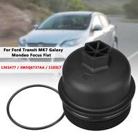 Coperchio del Filtro Dell'olio Housing Top Cover Oil Filter PER Ford OEM1303477