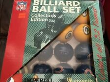 New listing NFL Billiard Ball Set (Collector's Edition) Packers / Bears