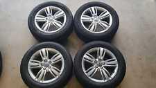 4 Audi Q3 17'' OEM Wheels WITH Tyres
