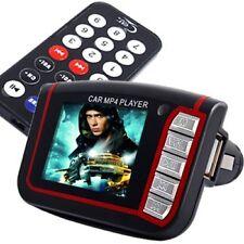 Lecteur Multimédia MP3/MP4 pour Voiture SD Transmetteur FM avec Télécommande