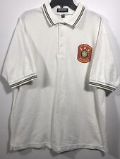 Mens King Louie 2002 Regional Baseball Tour Short Sleeve Polo Shirt Size XL-D116