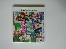 Barbie & Her Sisters Puppy Rescue Nintendo 3Ds Complete Cib w/ Manual Tested