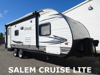 15 Forest River Salem Cruise Lite Used Travel Trailer Camper NEW LOWERED RESERVE