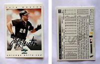 Lyle Mouton Signed 1997 Score #218 Card Chicago White Sox Auto Autograph