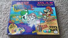 New Paas Super Nintendo SNES Glitter Mario Paint Zelda Easter Egg Decoration Kit