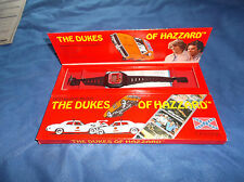 "Vintage 1981 Unisonic ""The Dukes of Hazzard"" LCD Quartz Watch in Display Box"
