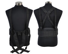 BL MOLLE Duty Tactical Outdoor Airsoft Military Hunting Padded Belt & Suspender