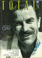 TOM SELLECK HAND SIGNED AUTOGRAPHED TOTAL MAGAZINE WITH COA VERY RARE