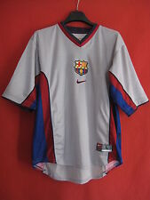Maillot Barcelone Nike Gris Barcelona FCB Manche Longue Vintage shirt - L