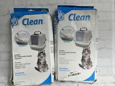 Catit Clean Biodegradable Liners, Jumbo 20ct!. Boxes Are Damaged! See Pics