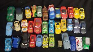 DISNEY PIXAR CARS LOOSE PLAYED WITH LOT OF 36 GMC lot 13