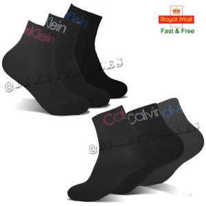 CK Calvin Klein Mens Womens Ankle Trainer Socks Liner Comfort Cotton Sports lot