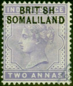 Somaliland 1903 2a Pale Violet SG3a 'BRIT SH' Very Fine Used