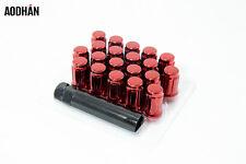 20 12X1.25 Lug Nuts Red Aodhan SPL35 SPLINE ACORN Fit Nissan infiniti Subaru