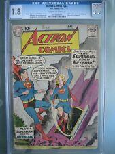 Action Comics #252 CGC 1.8 DC 1959 Origin & 1st app Supergirl (Kara Zor-El)