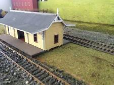 Ho scale building A-3 Centre Station laser cut timber kit