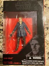"""Star Wars the Black Series Force Awakens Han Solo Exclusive 3.75"""" Action Figure"""