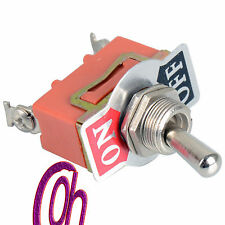 1 Pc 12V Heavy Duty Toggle Flick Switch ON/OFF Car Dash Light Metal SPST