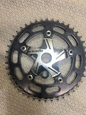 Sugino Old School Bmx Two Piece 44 Tooth Chainring Chainwheel