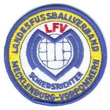 1 Ärmelabzeichen Landesfussballverband (LFV) Schiedsrichter in M-V, RARE