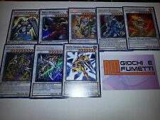 LOTTO 8 CARTE SYNCHRO in Italiano ORIGINALI  YUGIOH!  AFFARE!