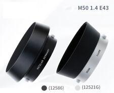 Leica 12586 All Black Metal Lens Hood for 50mm F1.4 Summilux Lens E43 Version