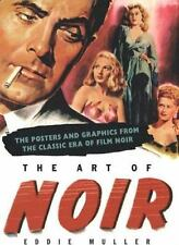 The Art Of NOIR Muller Posters & Graphics from classic ERA of Film NOIR NEW