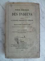 Poesía Heroica Las Indio India Por Complementos De Auguste Durand 1860