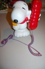 Peanuts Snoopy & Woodstock Telephone Piggy Bank Acl Phone * Vintage